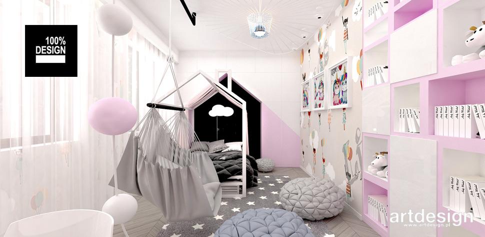 projekty wnętrz pokoje dzieci