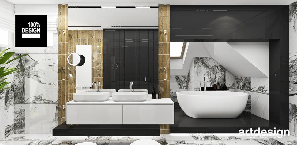 przepiękne aranżacje projekty łazienek