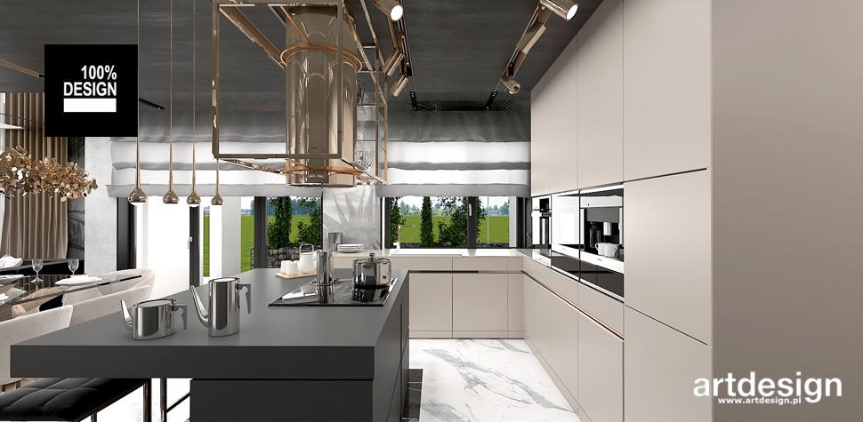 kuchnia design projektowanie wnętrz