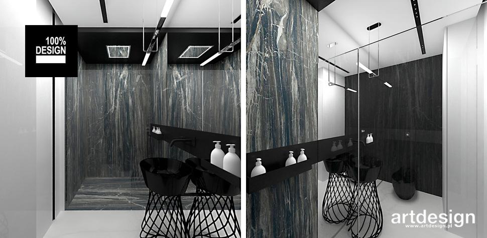 projekt łazienki styl nowoczesny