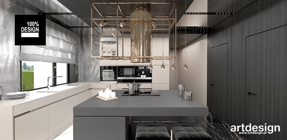 elegancka kuchnia w stylu nowoczesnym