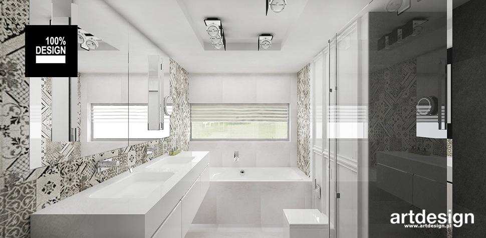 projekt łazienek wnetrza