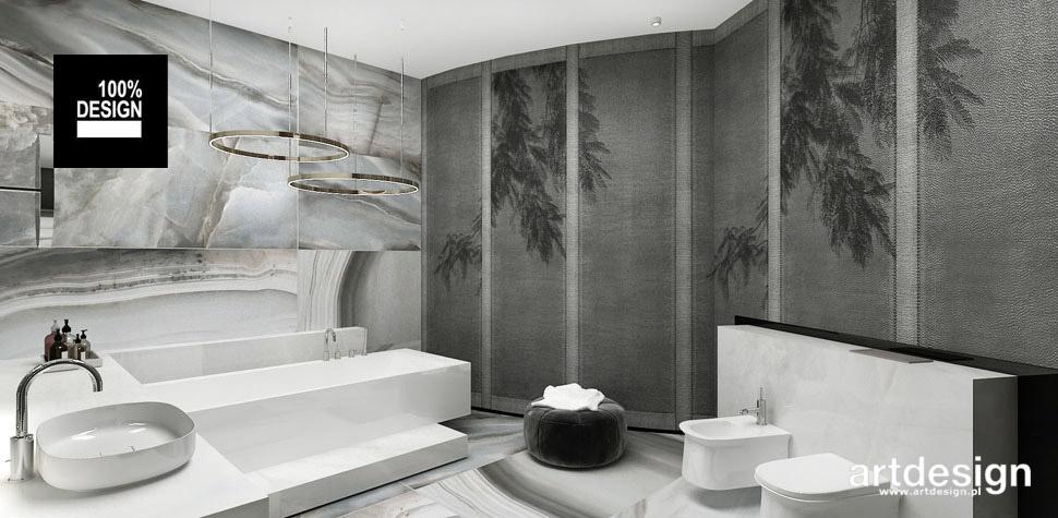 aranżacje łazienki duży dom