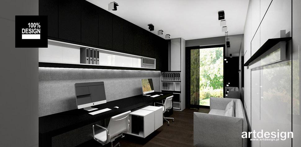 projektowanie wnętrz domowe biuro