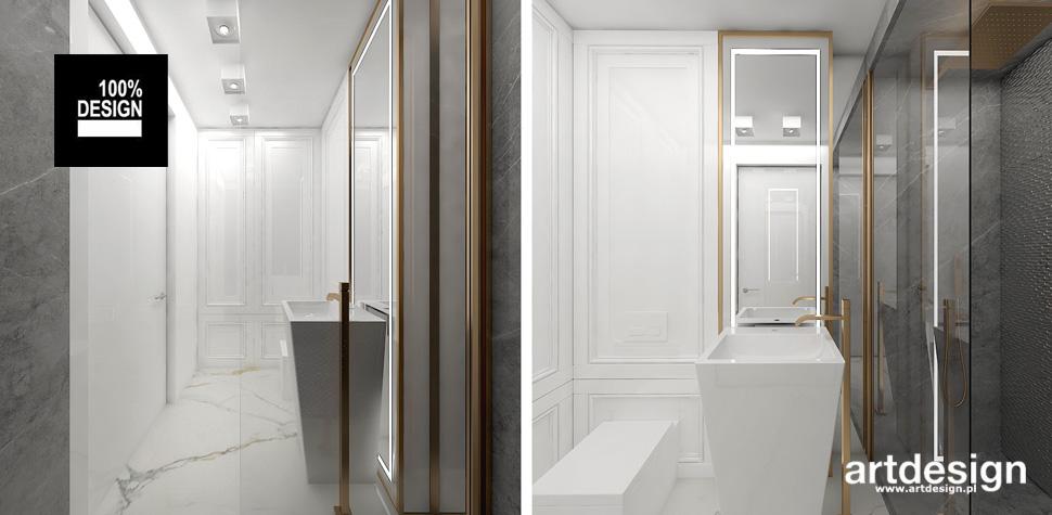 subtelna piękna łazienka