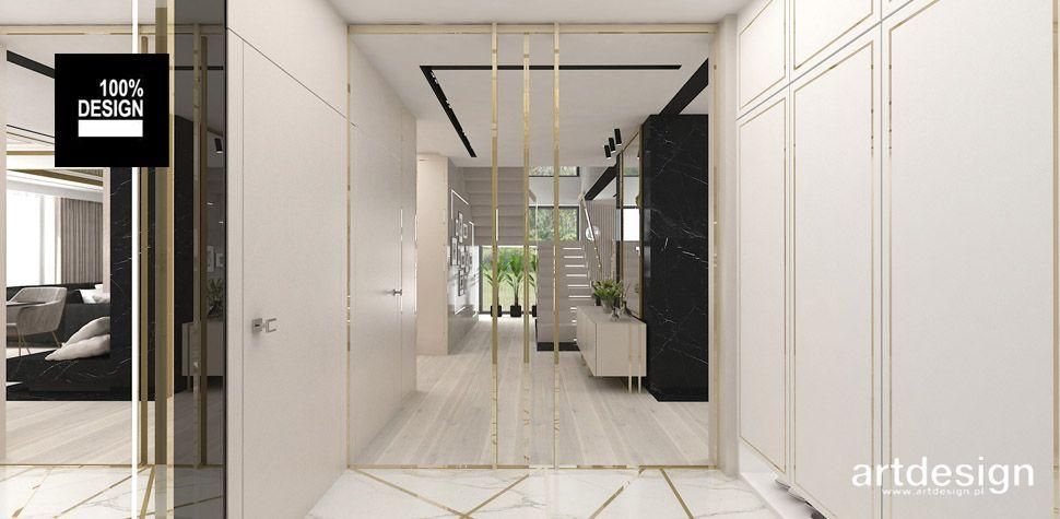 elegancki dom projekt wnętrz