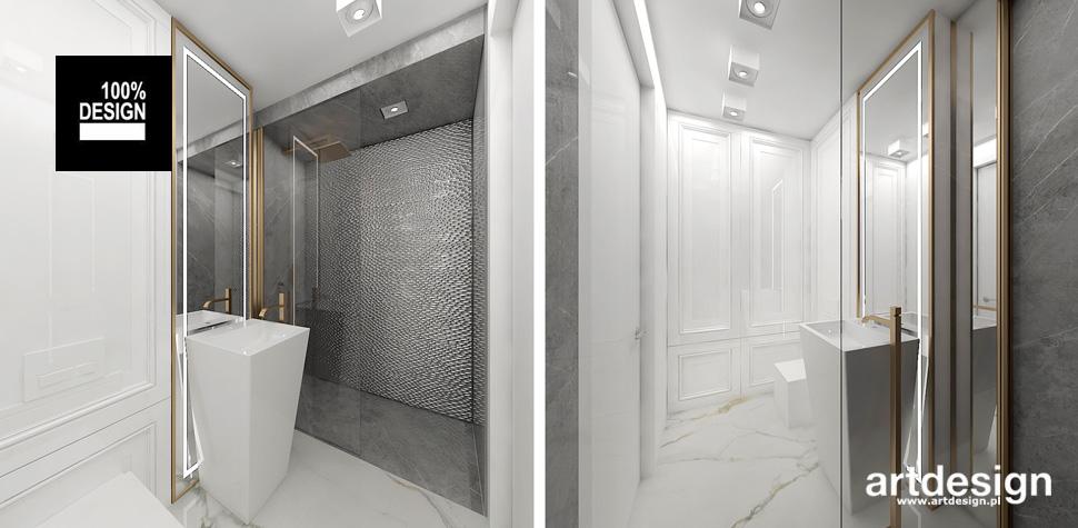 aranżacja jasnej łazienki
