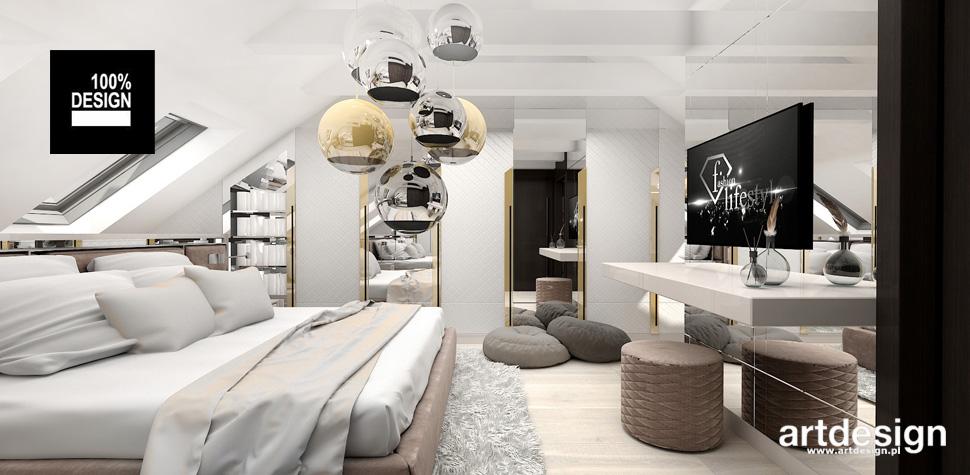 projekty sypialni domu wnetrza