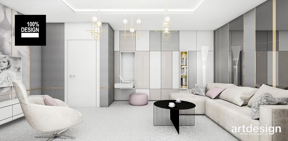 architektura wnętrz aranżacje salonu