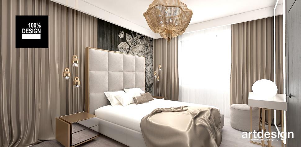 inspirujące wnętrza sypialnia