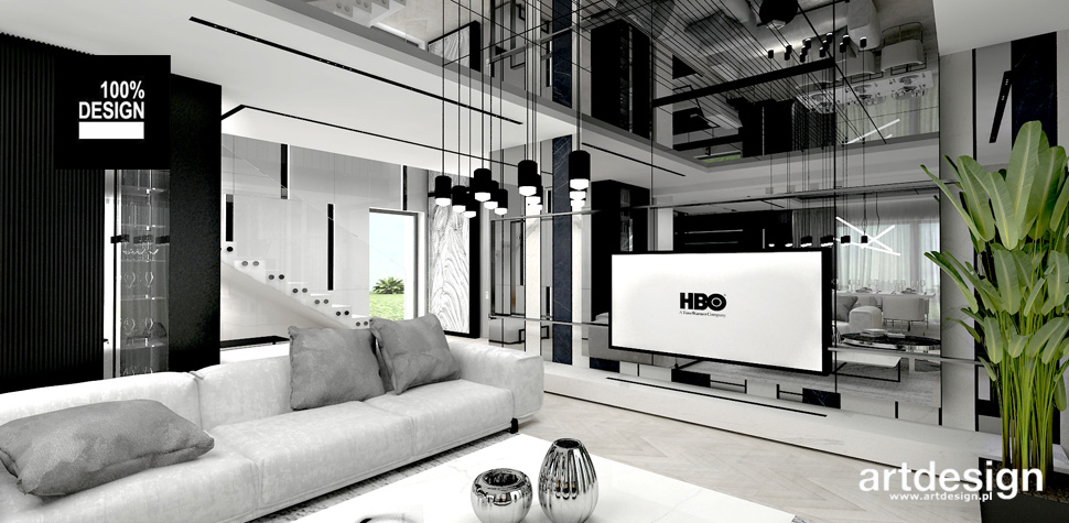aranżacja domu nowoczesne wnętrze