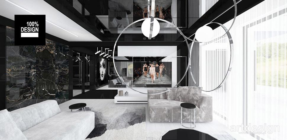 nowoczesne wnętrze salon