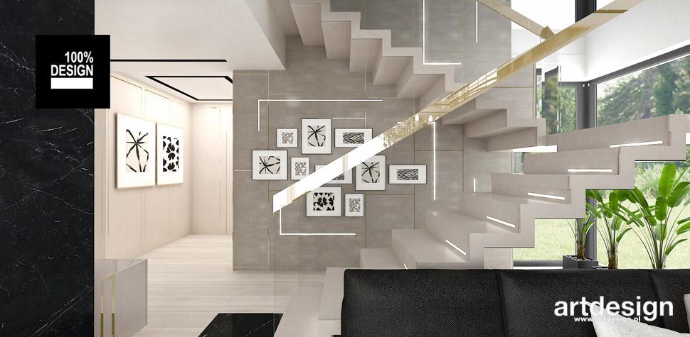 projekt schodów architekt wnetrz
