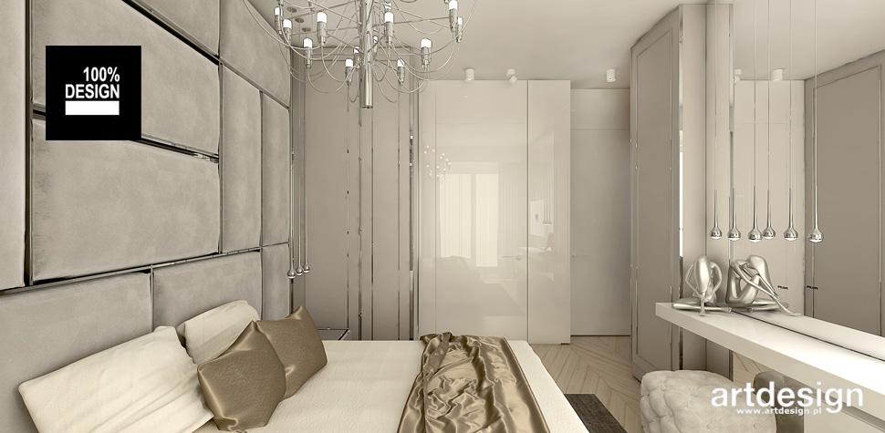 luksusowy projekt sypialni