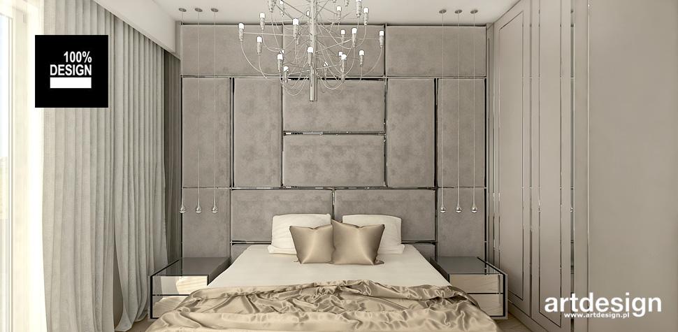 najpiękniejsze aranżacje sypialni zloto biel