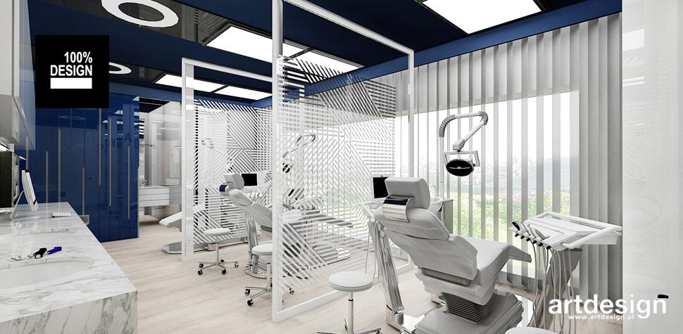 nowoczesne wnętrze kliniki stomatologicznej