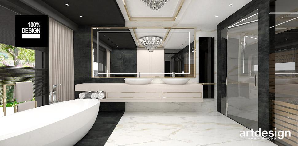 piękna łazienka inspiracje aranżacje