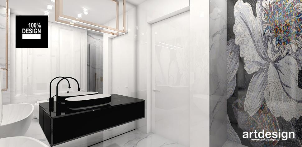 aranżacja łazienki styl nowoczesny