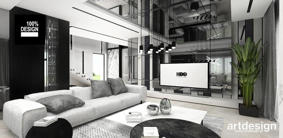 salon nowoczesny design