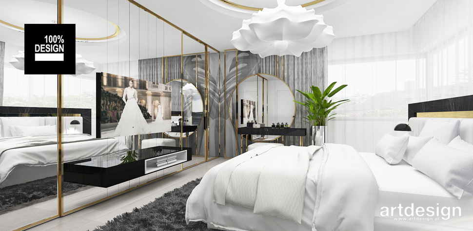 najpiękniejsze projekty sypialni