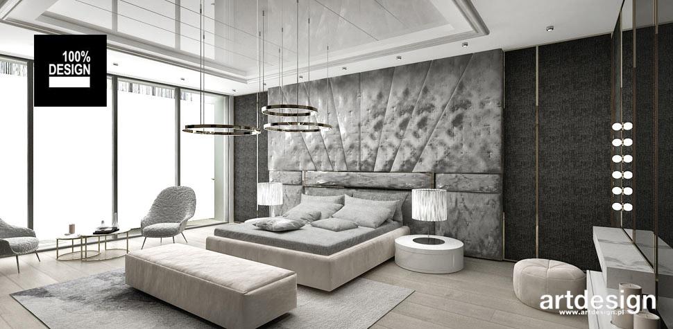luksusowa sypialnia architekt wnętrz