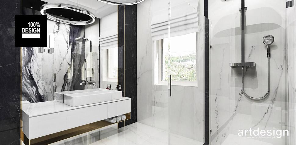 projekt łazienki pomysły inspiracje