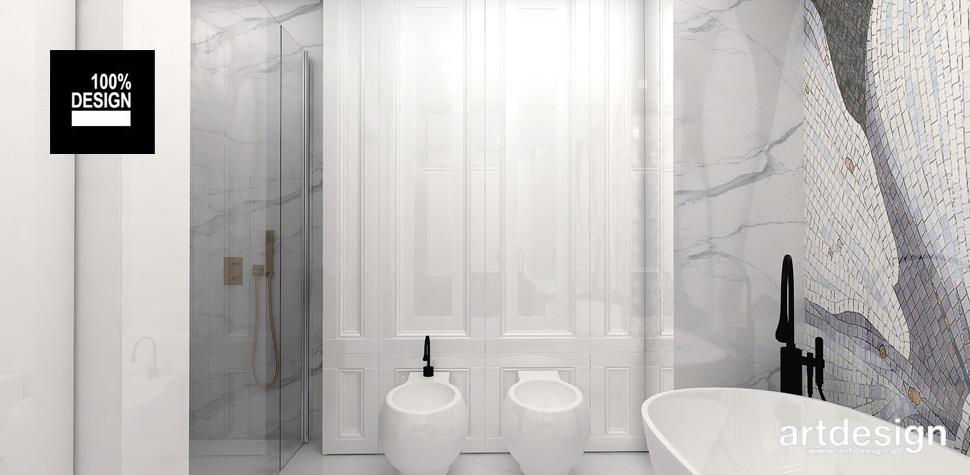 subtelna jasna łazienka