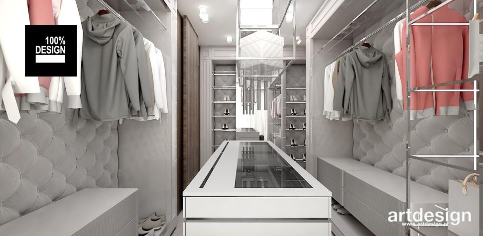 wygodna nowoczesna garderoba