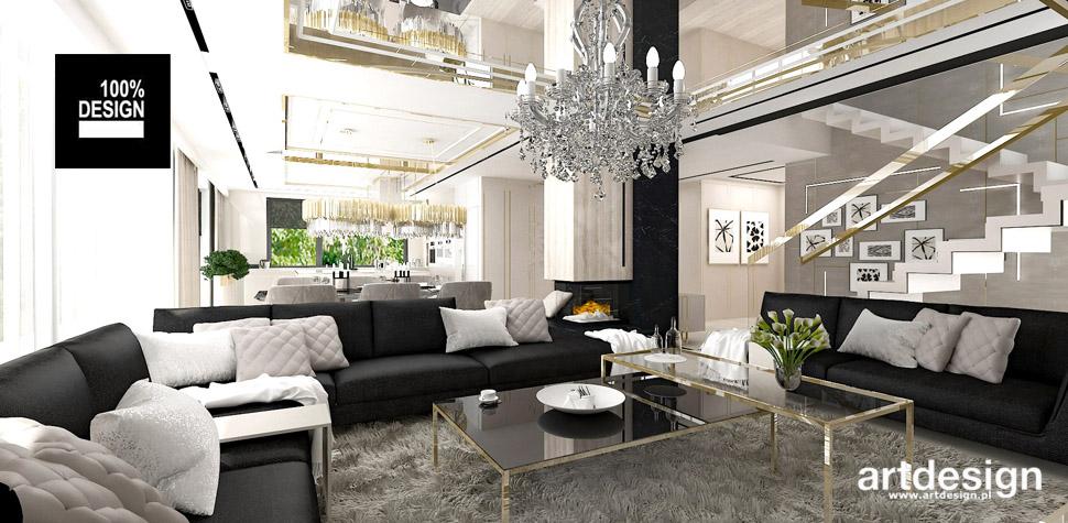 luksusowe wnętrze inspiracje