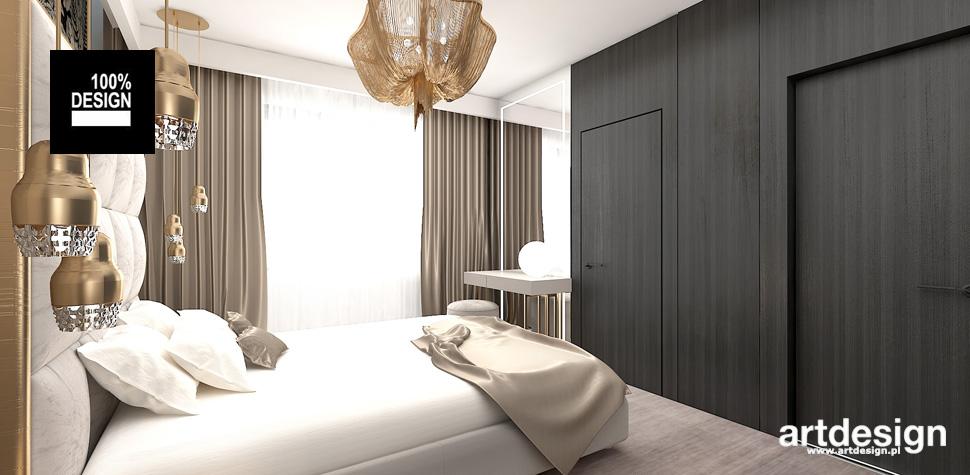 wyszukane wnętrze aranżacja sypialnia