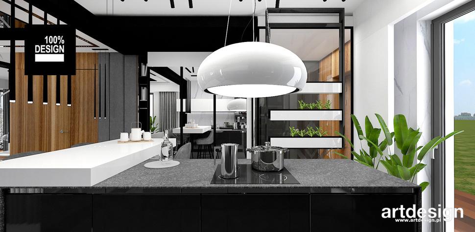 nowoczesne wnętrze domu inspiracje