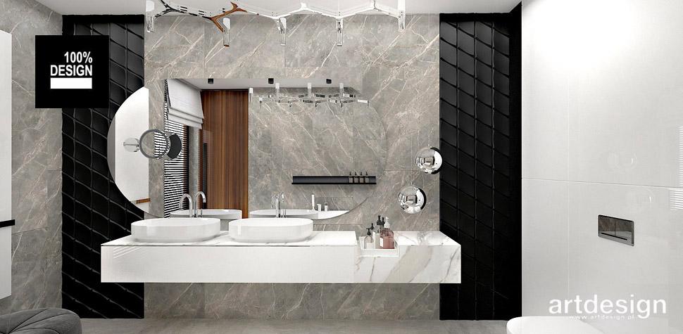 luksusowe wnętrza aranżacje łazienka