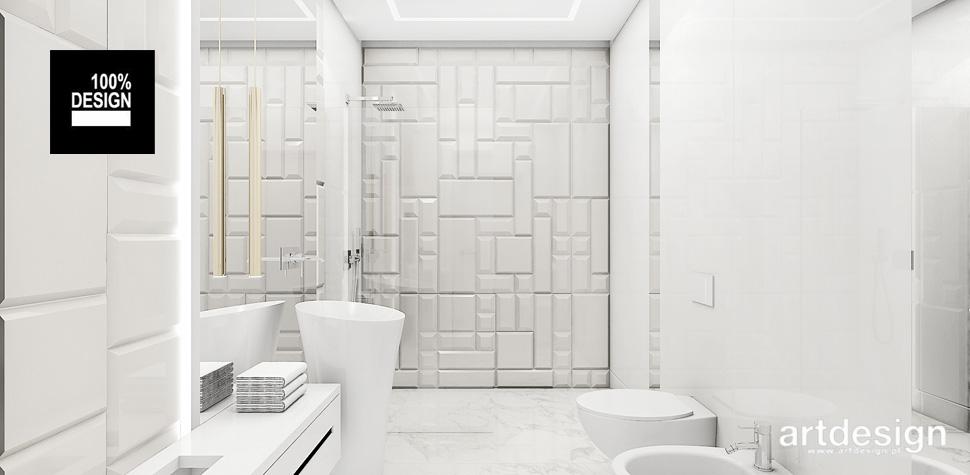 projekty wnętrz jasna łazienka