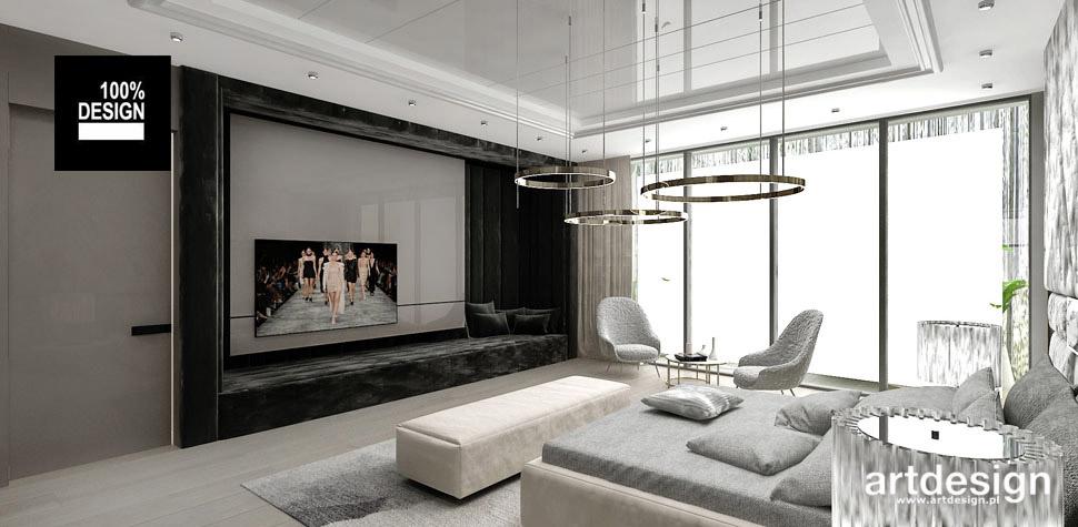 przestronna elegancka sypialnia