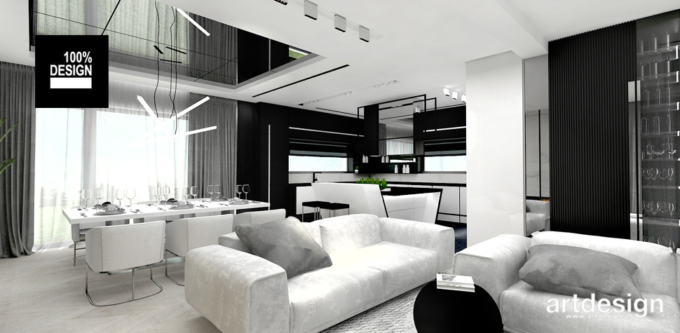 salon jadalnia wnętrza