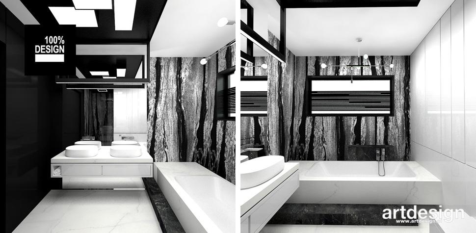 designerska łazienka aranżacja