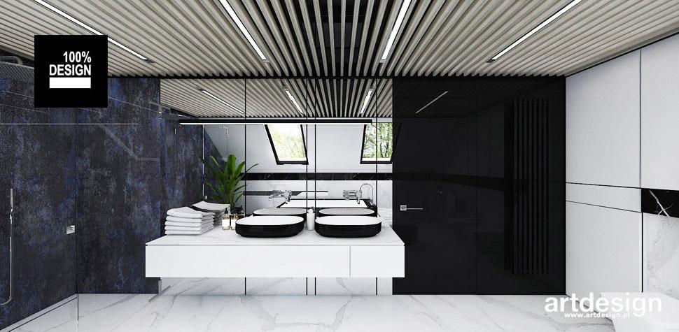 piękne wnętrza łazienka