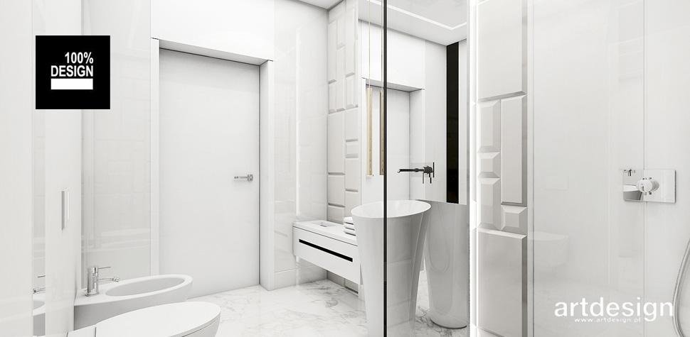 projekty inspiracje wnętrze łazienki