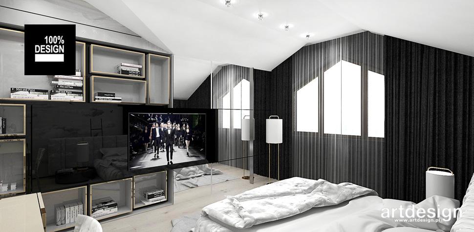 projektowanie sypialni wnętrze