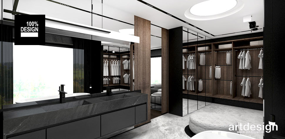 sypialnia z lazienka garderoba