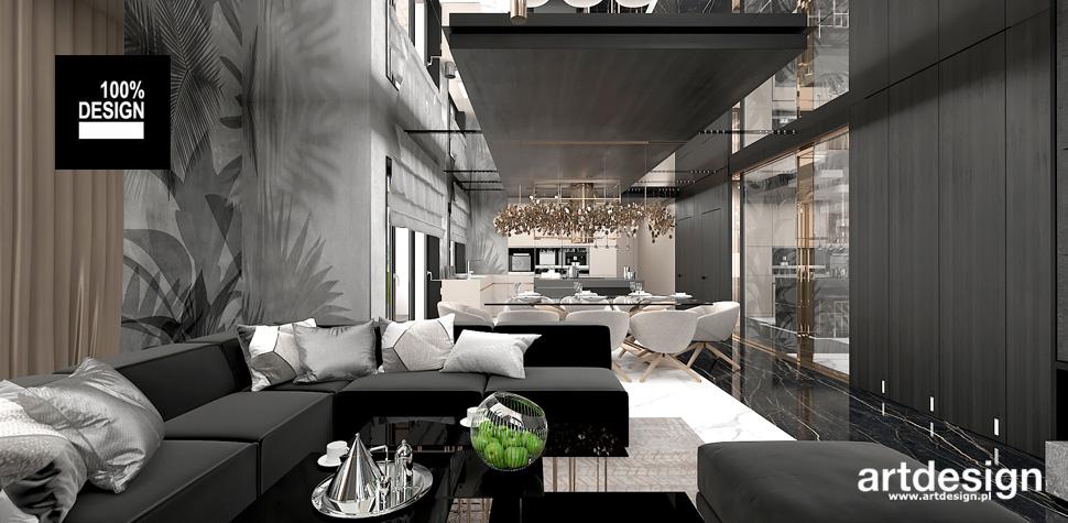 architektura wnętrz salon jadalnia