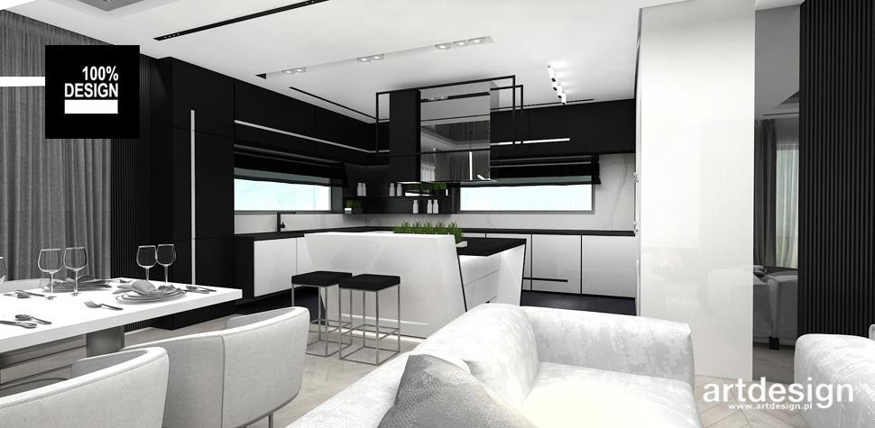 projekty wnętrz kuchni