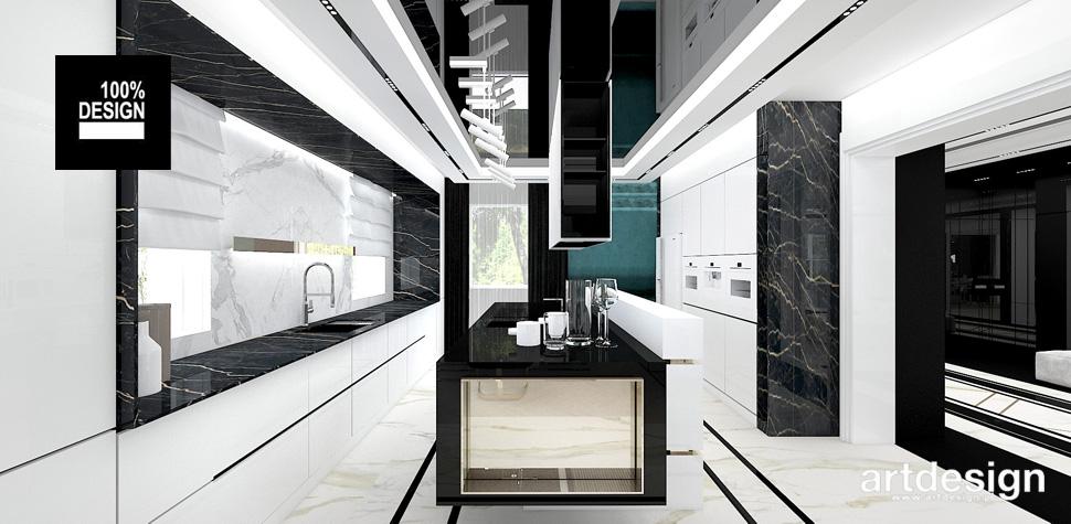 kuchnie wnętrza projekty