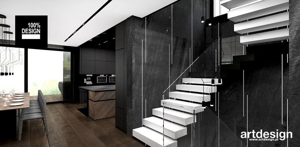 nowoczesne białe schody