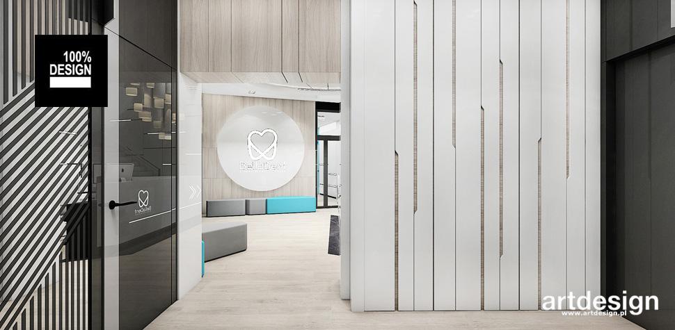 klinika wnętrze nowoczesny design