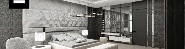 piękna ekskluzywna sypialnia