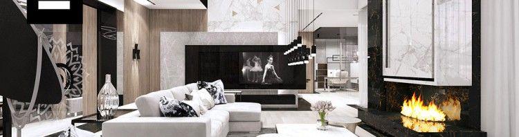 projekt salonu aranżacje