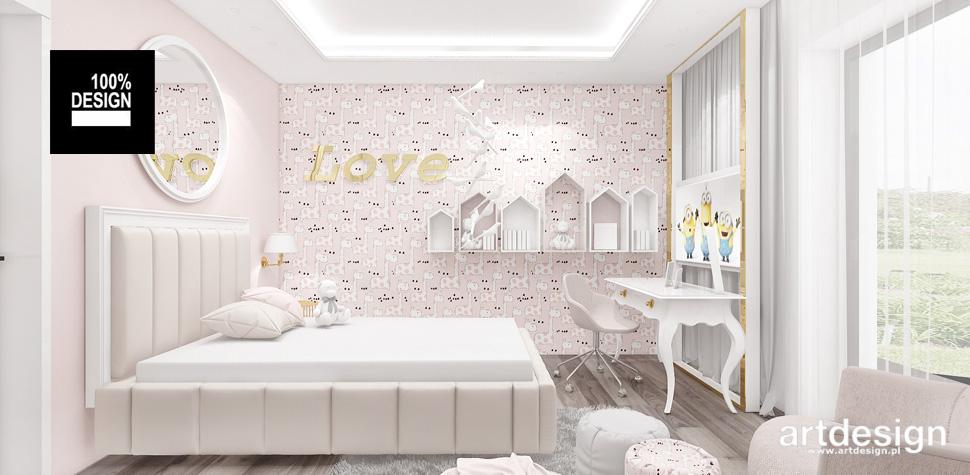 pokój dziecka projekt wnętrze
