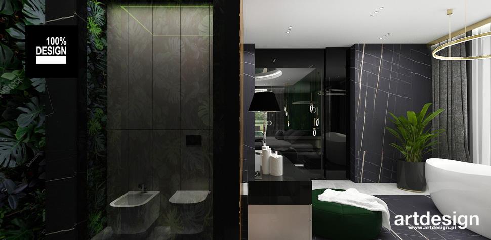 nowoczesne projekty wnętrz łazienek