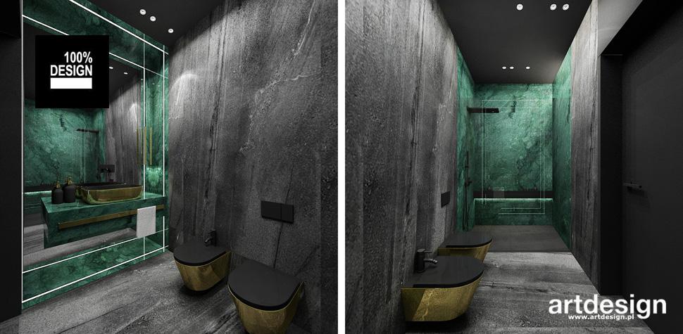 oryginalna łazienka luksusowy design